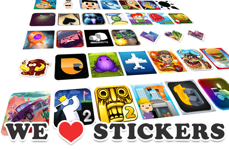 We Heart Stickers