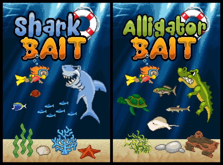 Shark Bait & Alligator Bait