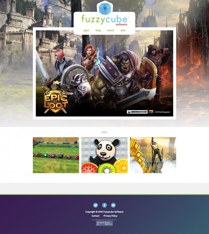 Fuzzycube Website