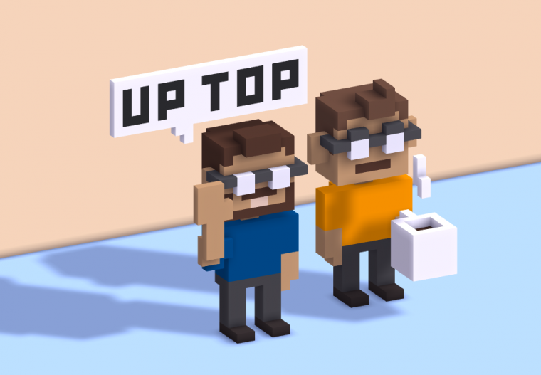 Office High-Five: Up Top