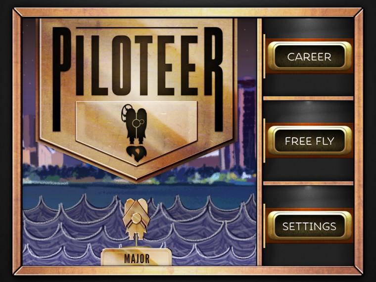 Piloteer - Main Menu