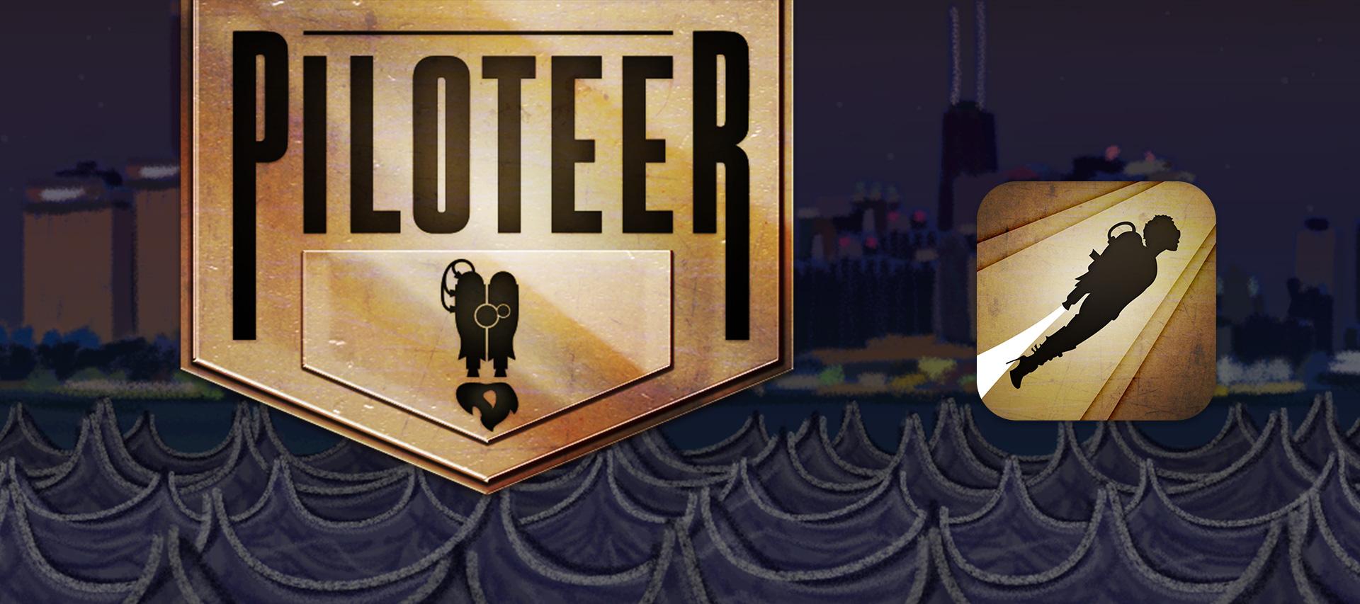 Piloteer - Logo, Icon & UI