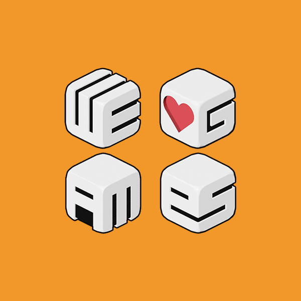 We Heart Games – Dice Logo