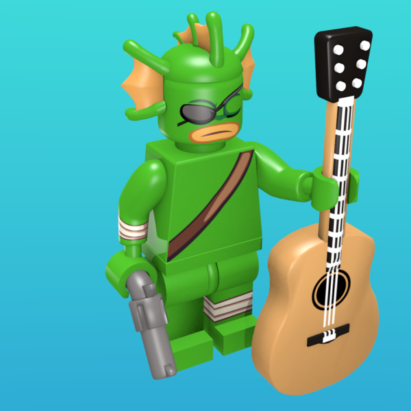 Fish from Nuclear Throne as a minifigure