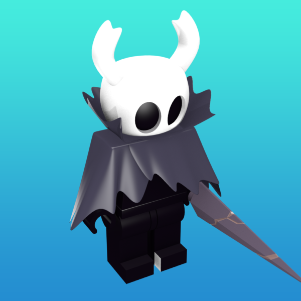Hollow Knight as a minifigure