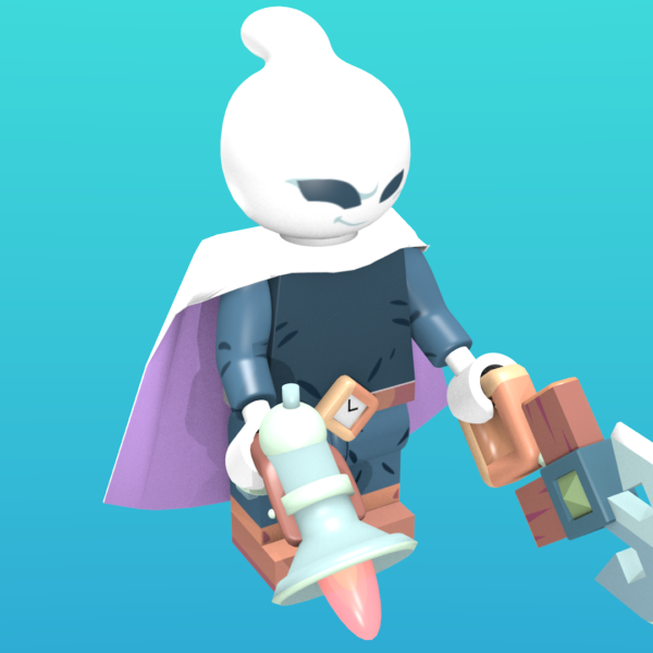 Captain Flinthook as a minifigure