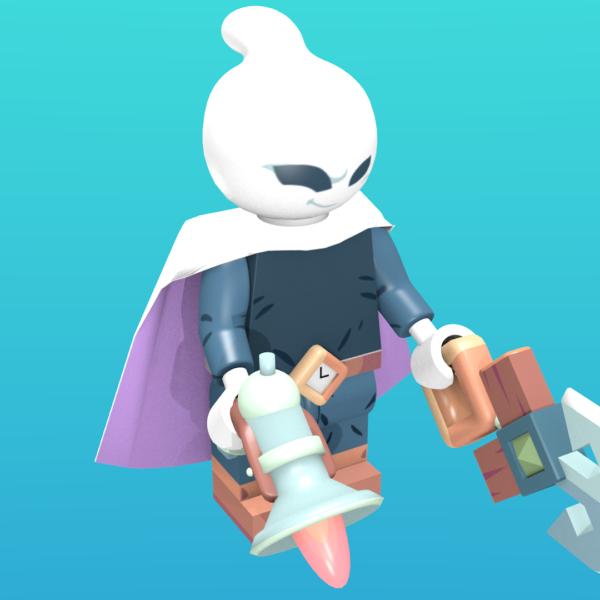 Captain Flinthook as a minifigure