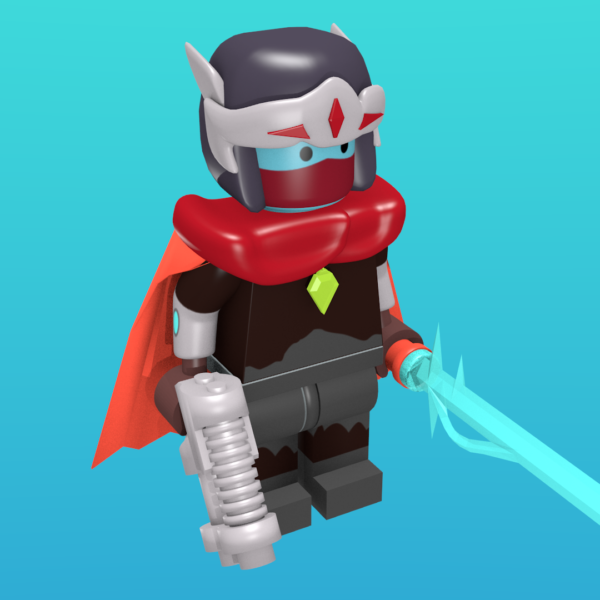 Hyperlight Drifter as a minifigure