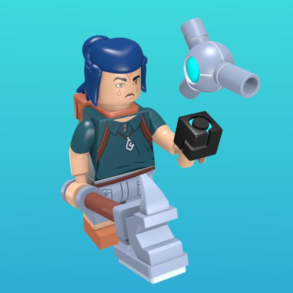 Keu from NYKRA as a minifigure