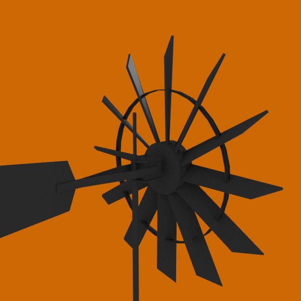 Windmill – 3d model