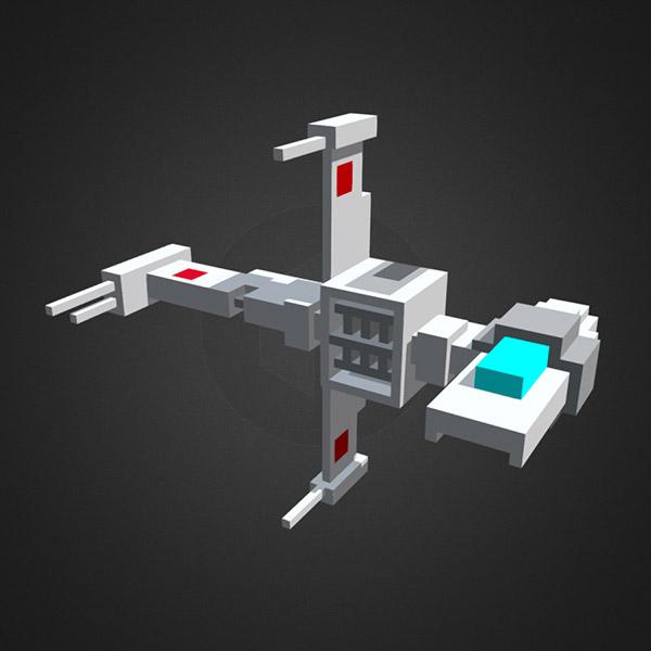 Voxel B-Wing