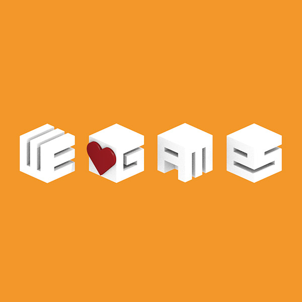We Heart Games – Blocky Logo