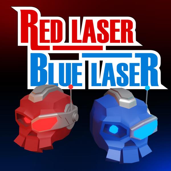 Red Laser Blue Laser