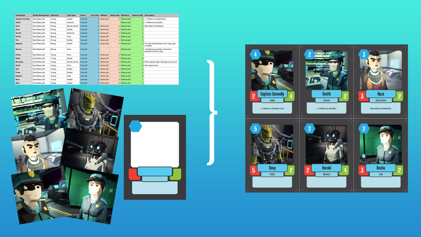 How to make a card game with InDesign and Data Merge