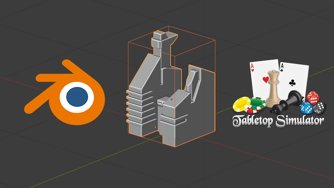 How export obj files from Blender to Tabletop Simulator